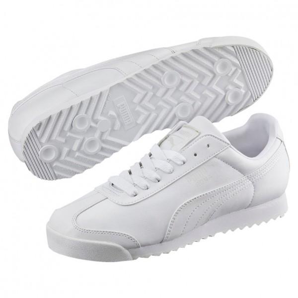 Puma Roma Basic (white-gray 21)