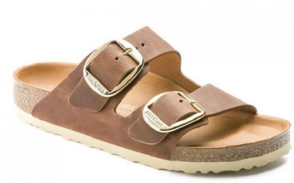 Birkenstock Arizona Big Buckle FL Damen Schuhe normal 1011072(Braun)