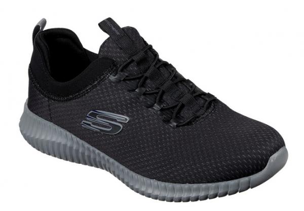Skechers Elite Flex - Belburn Herren Sneaker 52529 (Schwarz-BKCC)