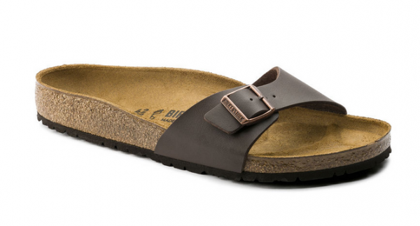 finest selection e3316 f16e8 Birkenstock Madrid Damen Schuhe schmal (Braun)