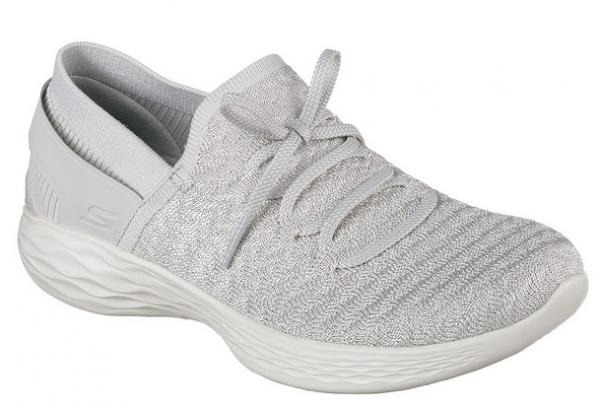 Skechers YOU - Beginning Damen Sneaker 14975 (Silber-SIL)