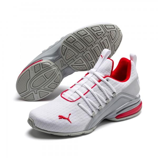 Puma Axelion Block Herren Sneaker 193148 (Weiß 02)