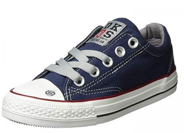 Dockers Kinder Sneaker Low 38AY613-710 (Blau 660)