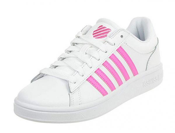 K-Swiss Court Winston Damen Sneaker (Weiß/Pink 192)