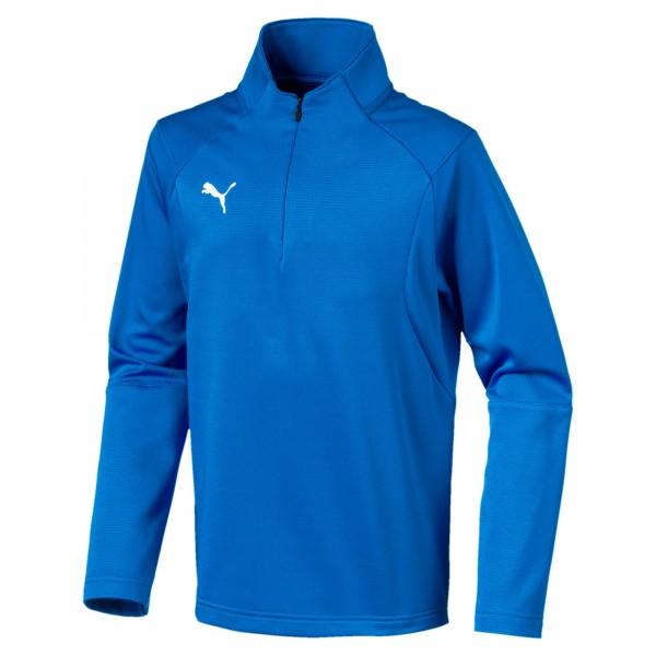 Puma LIGA Training 1/4 Zip Jr Kinder Shirt 655646 (Blau 02)