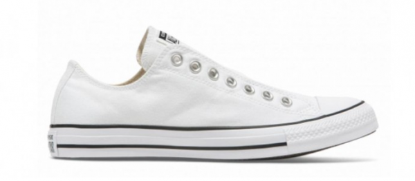 Converse Chuck Taylor All Star Slip on Low Sneaker (Weiß)