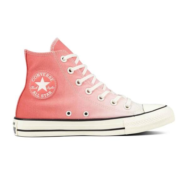 Converse CTAS Ombre Wash Hi Damen Sneaker 561722C(Orange)