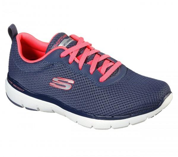 Skechers Flex Appeal 3.0 - First Insight Damen Sneaker 13070 (Blau-SLTP)