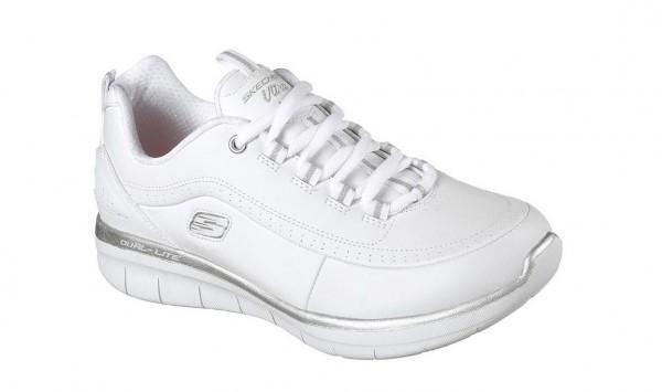 Skechers Synergy 2.0 Damen Sneaker 12363 (Weiß-WSL)