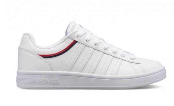 K-Swiss Court Winston Damen Sneaker 96154 (Weiß 185)