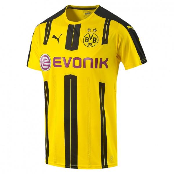 Puma BVB Trikot Heim Borussia Dortmund Replica Herrentrikot (yellow-black 01)