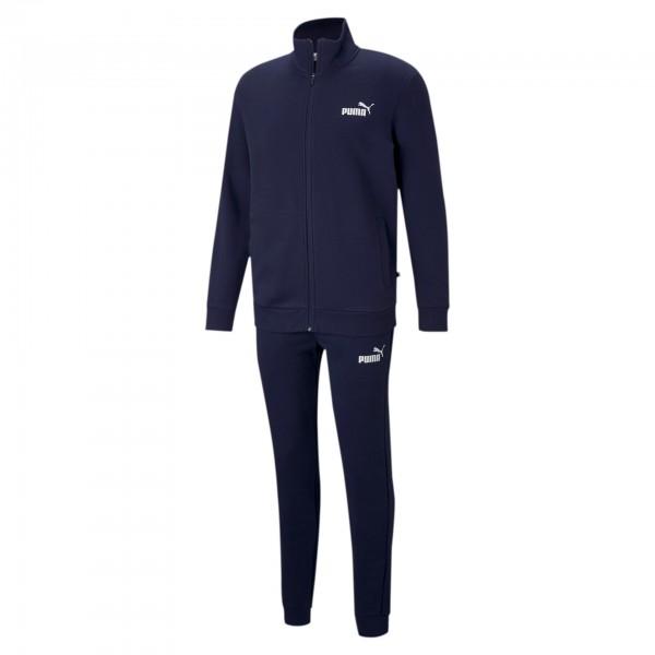 Puma Clean Sweat Suit FL Herren Trainingsanzug 585841 (Blau 06)