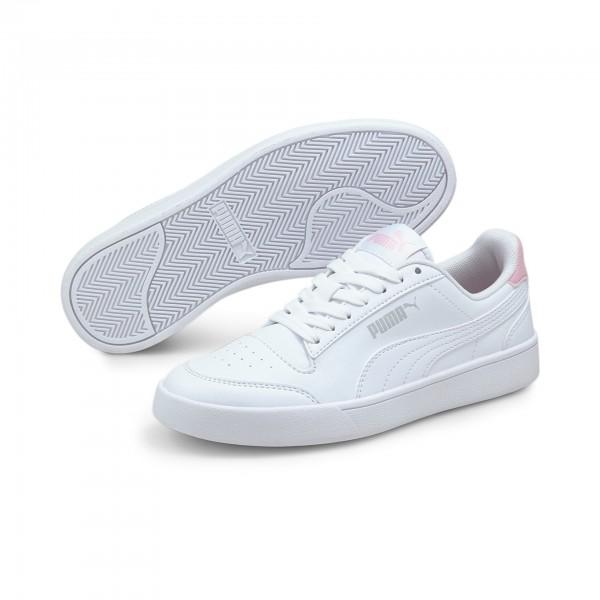 Puma Shuffle Jr Kinder Sneaker 375688 (Weiß 04)