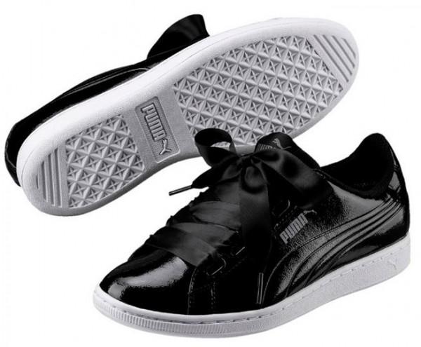Puma Vikky Ribbon P Damen Sneaker 366417 (Schwarz 01)