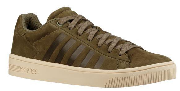 K Swiss Court Frasco Herren Sneaker 05453 (olive/oyster white 389)