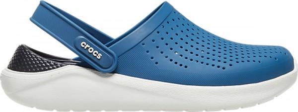 Crocs LiteRide Clog (Vivid Blue/Almost White)