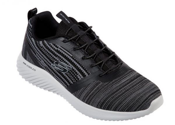 Skechers Bounder Herren Sneaker 52504 (Grau-BKGY)
