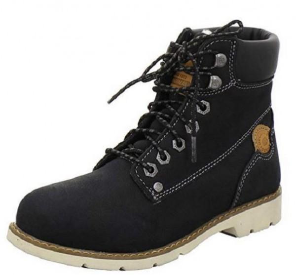 Dockers Damen Stiefel 39SI302-302 (Schwarz 100)