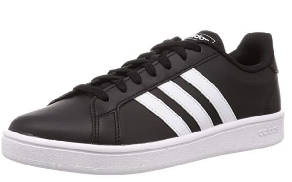 Adidas Grand Court Base Herren Sneaker EE7900 (Schwarz)