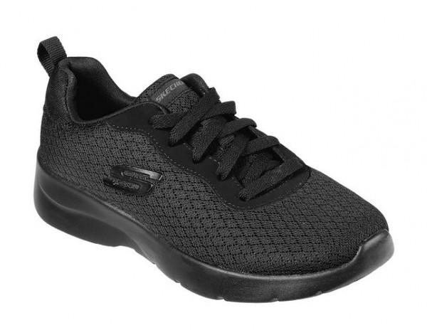 Skechers Dynamight 2.0 - Eye to Eye Damen Sneaker 12964 (Schwarz-BBK)