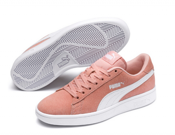 Puma Smash v2 SD Jr Kinder Sneaker 365176 (Rosa 16)