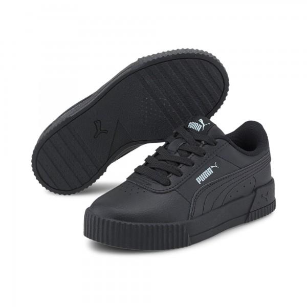 Puma Carina L PS Kinder Sneaker 370678 (Schwarz 18)
