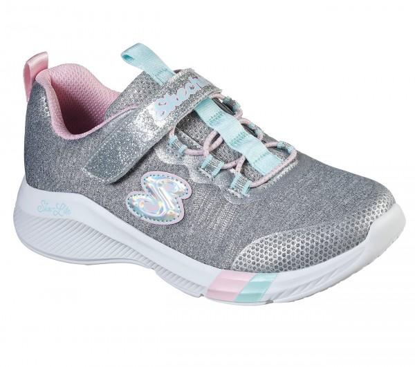 Skechers Dreamy Lites Kinder Sneaker 302021L (Grau-LTGY)