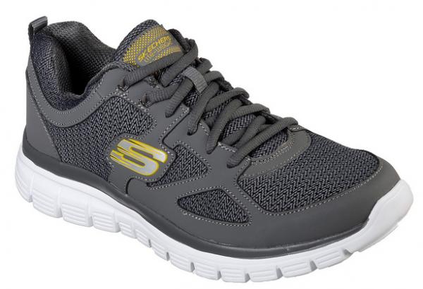 Skechers Burns - Agoura Herren Sneaker 52635 (Grau-CHAR)