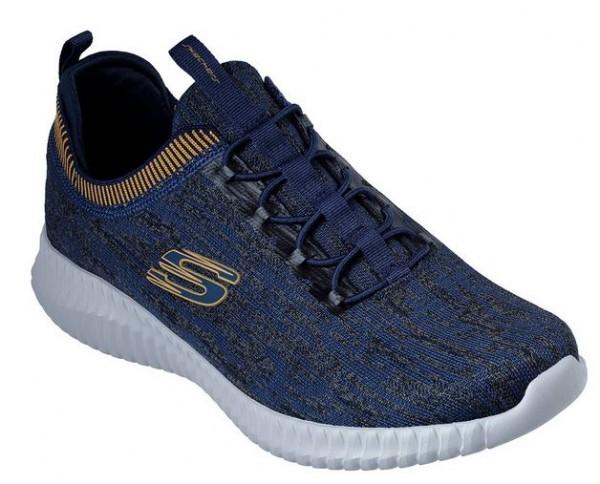 Skechers Elite Flex - Hartnell Herren Sneaker (Blau-NVYL)