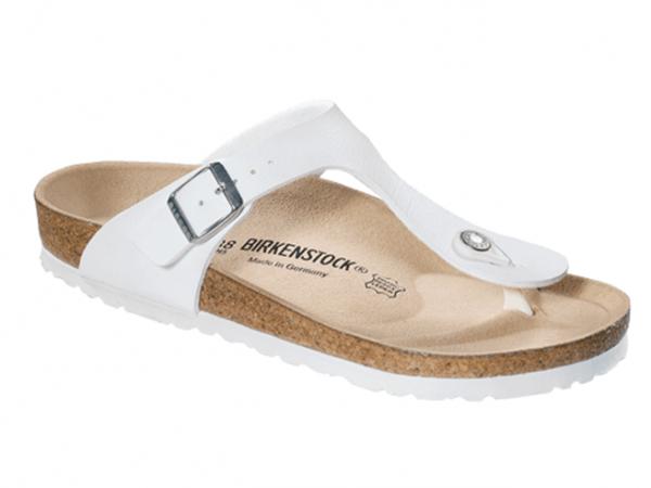 Birkenstock Gizeh normal Damen Zehentrenner 043731 (weiß)