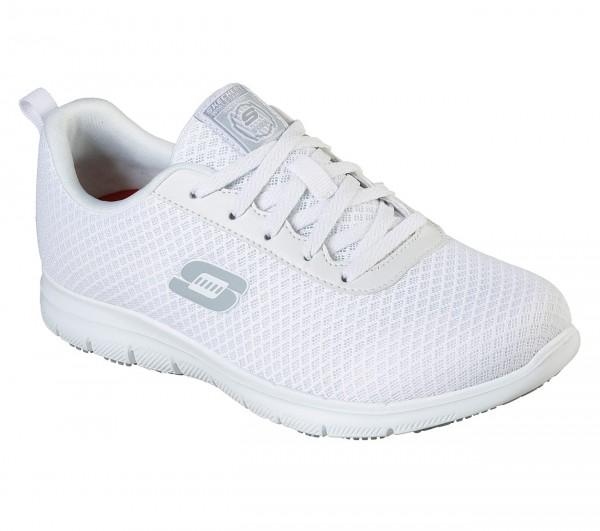 Skechers Relaxed Fit Ghenter Bronaugh SR Damen Sneaker 77210EC (Weiß-WHT)