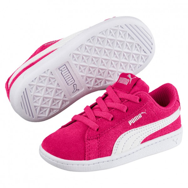 Puma Vikky AC PS Kinder Sneaker 366713 (Purple-White 01)