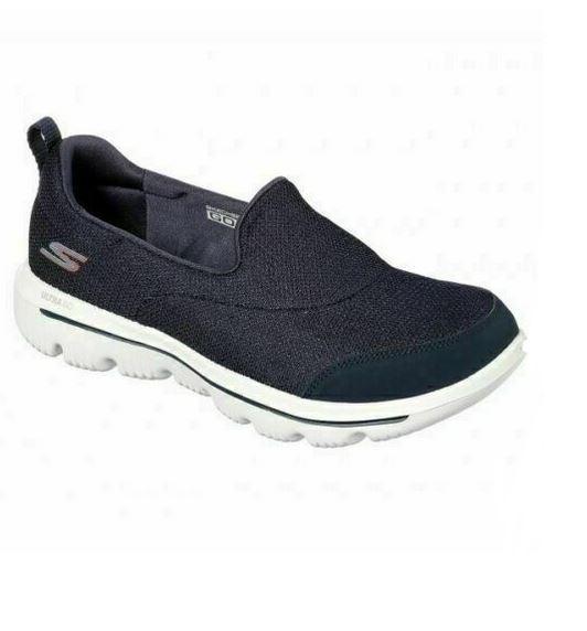Skechers GoWalk Evolution Ultra - Rapids Damen Sneaker 15730 (Blau-NVW)