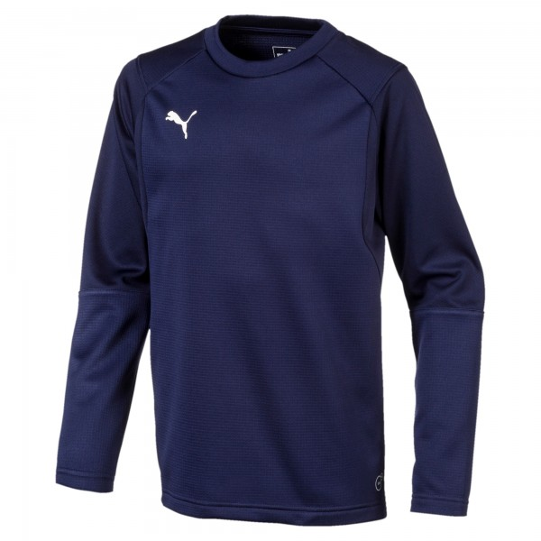 Puma LIGA Training Sweat Jr Kinder Shirt 655670 (Blau 06)