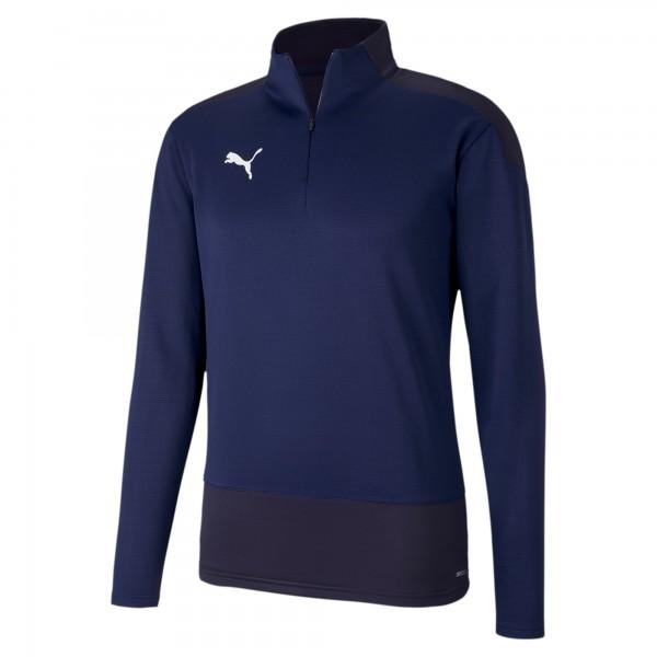 Puma TeamGOAL 23 Training 1/4 Zip Top Herren Pullover 656476 (Blau 06)