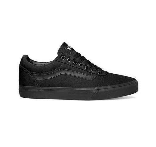 Vans Ward Herren Sneaker VN0A38DM186 (Schwarz)