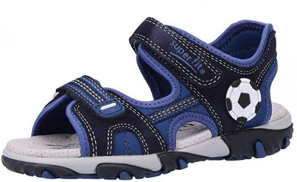 Superfit Mike2 Kinder Sandalen (Blau 80)