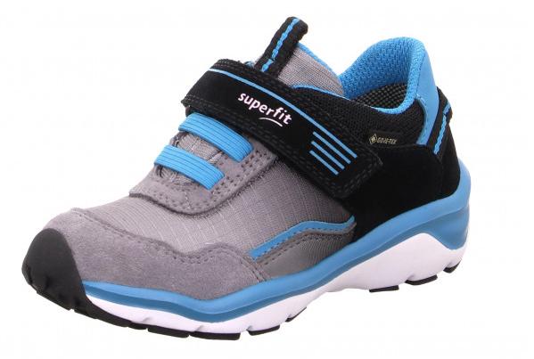 Superfit Sport5 Kinder Sneaker 6-09241 (Schwarz/Blau 00)