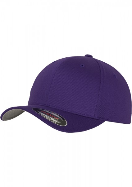 Flexfit Wooly Combed Baseball Cap (Purple-00195)