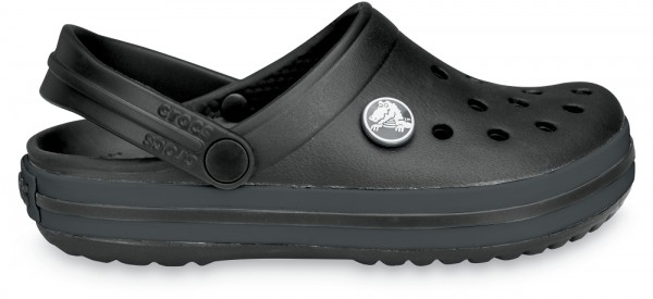 Crocs Crocband Kinder (Black/Graphite)