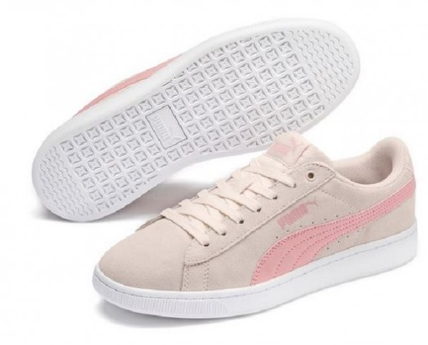 Puma Vikky v2 Damen Sneaker 369725 (rosa-beige 12)