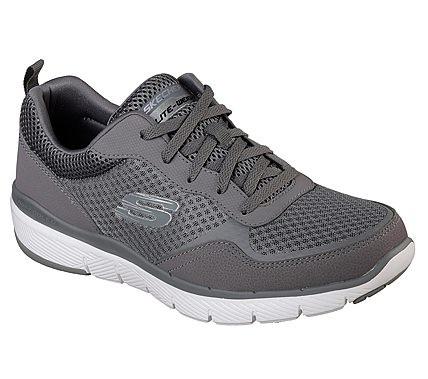 Skechers Flex Advantage 3.0 Herren Sneaker 52954 (Grau-CHAR)