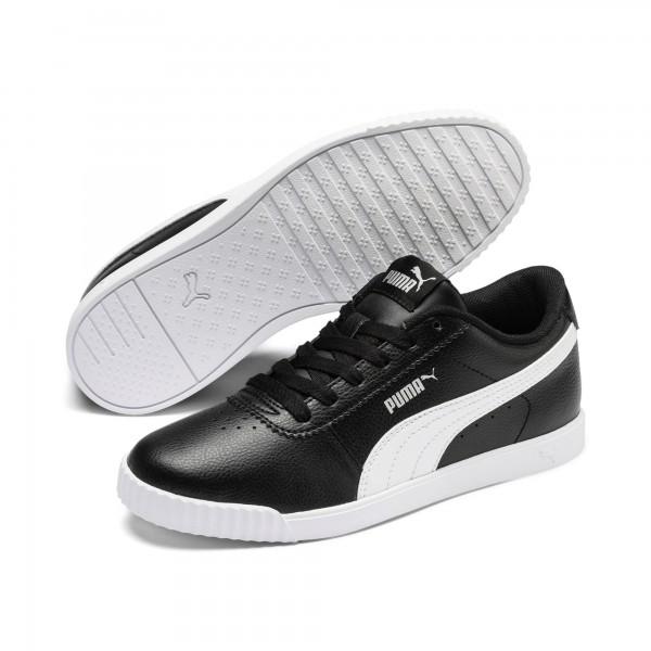 Puma Carina Slim SL Damen Sneaker 370548 (Schwarz 01)