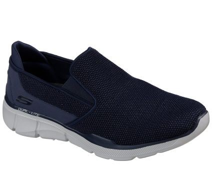 Skechers Relaxed Fit: Equalizer 3.0 Sumnin Herren Sneaker 52937 (Blau-NVY)