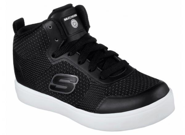 Skechers S Lights: Energy Lights - Halation Kinder Sneaker (Schwarz-BLK)