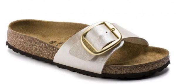Birkenstock Madrid Big Buckle Damen Schuhe normal 1015278 (Beige)