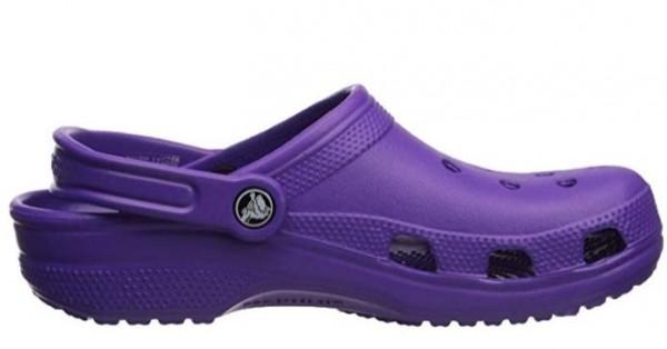 Crocs Classic Clogs (Neon Purple)