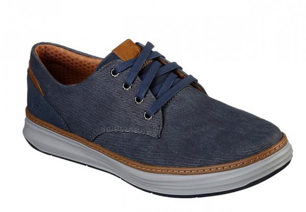 Skechers Moreno - Ederson Herren Sneaker 65981 (Blau-NVY)