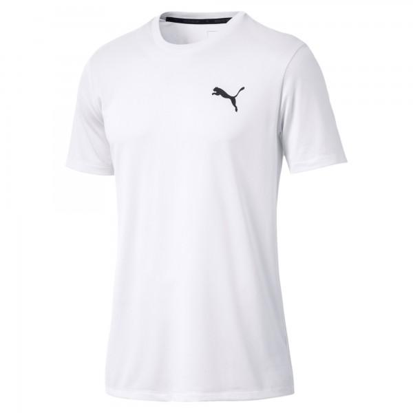 Puma Active Tee Herren T-Shirt (Weiß 02)