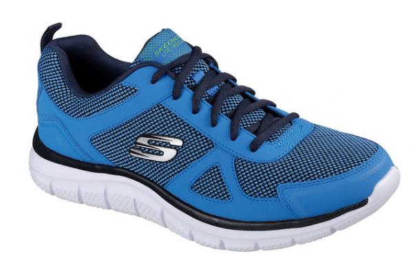 Skechers Track - Bucolo Herren Sneaker 52630 (Blau-BLLM)